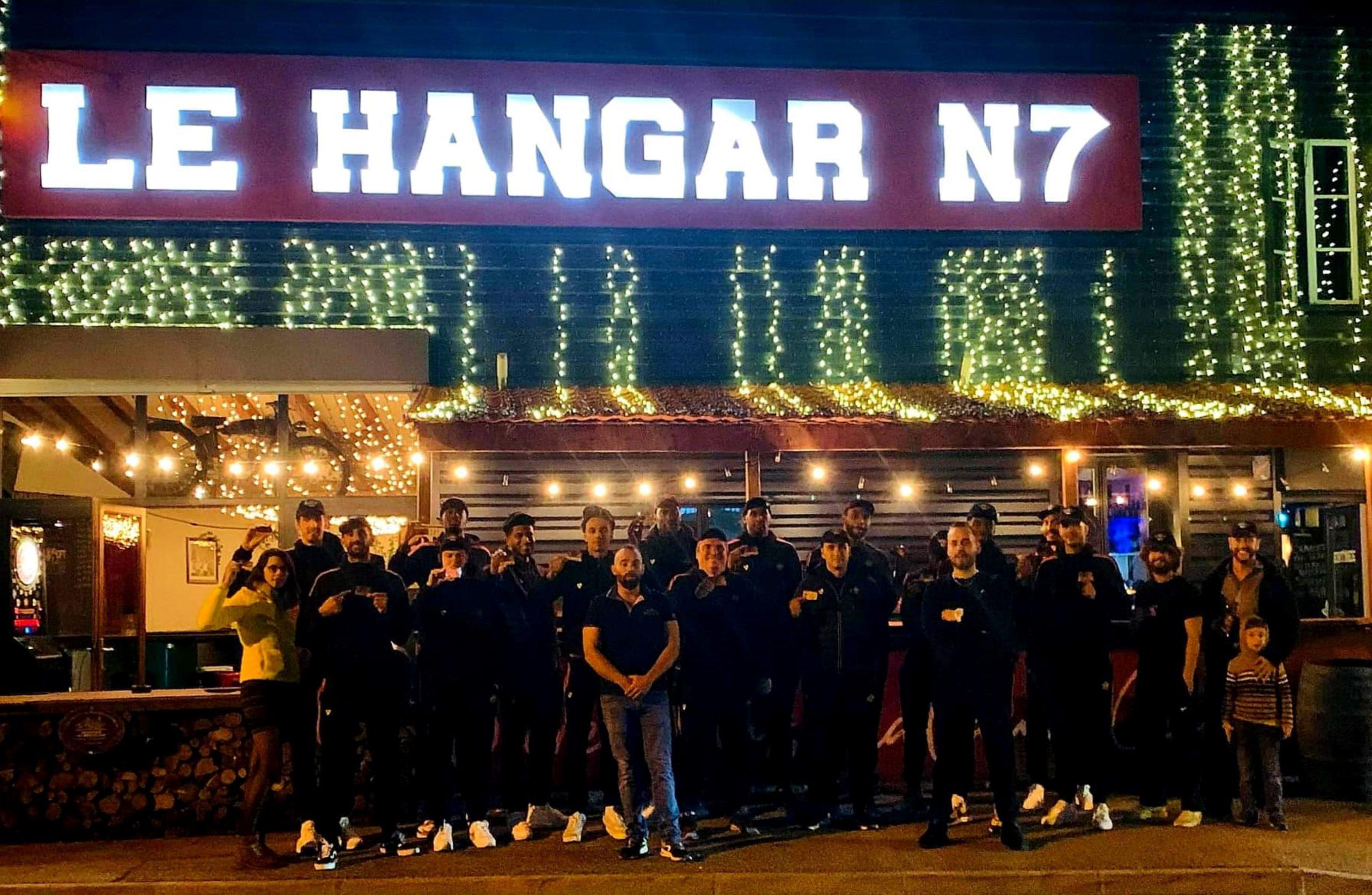 Inauguration du partenariat avec Le Hangar N7